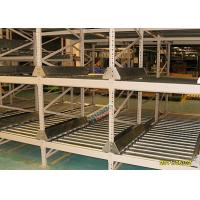 Buy cheap High Density Light Grey Flow Rack Shelving , Industrial Pallet Racks Heavy Duty from wholesalers