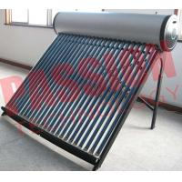 China Bathing Solar Hot Water Tubes Systems , Solar Roof Water Heater Non Pressure wholesale