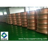 China Bright Surface Copper Compression Fittings , ASTM B359 Seamless Copper Pipe wholesale