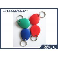 China Red Printing EM4001 125Khz RFID Key Tag For Access Control System wholesale