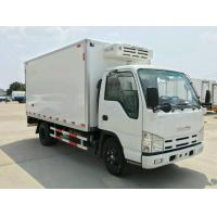 China 4 X 2 Light Duty 3 Ton Refrigerator Van Truck Dongfeng Cooling Van Truck wholesale