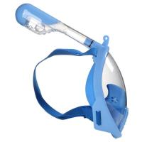 China Multi Size Full Face Snorkel Mask , Anti - Leak Water Sports Equipment wholesale