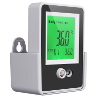 China Alarm 15CM Temperature AI Doorbell Wall Mount Thermometer wholesale