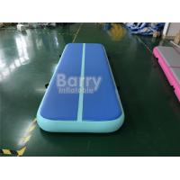 Buy cheap Custom Indoor Outdoor Airtight Inflatable Airtrack Gymnastics Mat For Gymnastics from wholesalers