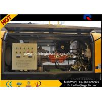 China PLC Control Small Diesel Concrete Pump Anti - Wearing Double Circuit Opening System wholesale