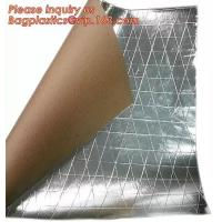 China Aluminum Foil-Scrim-Kraft Paper Facing insulation material for building construction,radiant barrier laminated woven clo wholesale