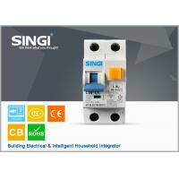 China MCCB / RCCB Earth leakage micro circuit breaker , overload / short circuit breaker wholesale