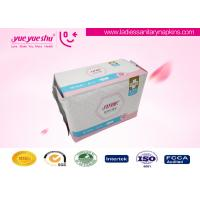 Night Use 290mm Long Sanitary Pads With Self - Adhesive Labeling Package