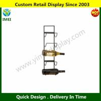 "China 79 Metal Wall Wine Rack, 25 by 6"" YM6-089 wholesale"