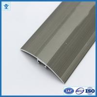 Quality Gold and Champage Anodized Color Aluminum Extrusion Profiles for Flooring for sale