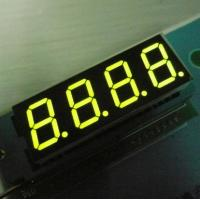 China 350mm Continuous Green Four Digit 7 Segment LED / Electronic Display Board wholesale