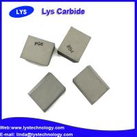 "Wholesale Cemented Carbide Inserts 1/2"" Square P30 grade carbide blank from china suppliers"