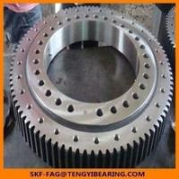 China Tower crane turnable slewing bearing 121.40.4500.990.41.1502double Row Axial/Roller Combination Slewing Bearing wholesale