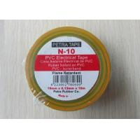 China 0.13mm adhesive PVC Electrical insulation tape flame retardant high temperature resistance wholesale