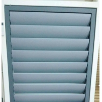 Quality Ventilate motorized Aluminum Venetian Blinds for outdoor easy operation Customized for sale