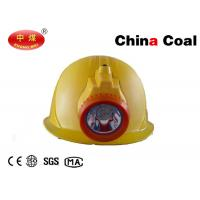 China Mining Tools Coal Miner Safety Helmet with LED Light  / Security Helemts wholesale