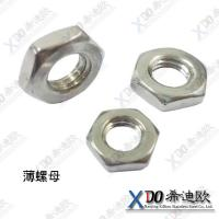 China China Alloy20 high quality stainless steel nut,hex thin nut wholesale