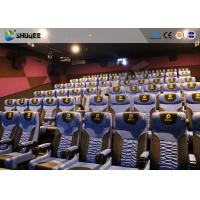 China Business Centre 4D Movie Theater Electric Motion Rider Equipment 80 Seats wholesale