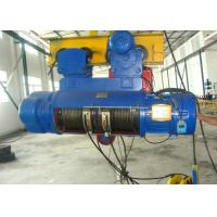 China 5000KG Crane Electric Wire Rope Hoist CD1 With 1 To 25T Capacity on sale