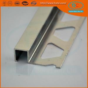 China 6063 Chorme Aluminum tile trim ,aluminum extrusion wholesale