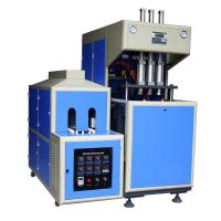 China 380V / 14KW Semi-Automatic Bottle Blow Molding Machine to make PET bottles for edible oil wholesale