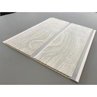 China PVC Wood Panels Peanut Pattern Groove Shape Size 250 × 7mm With High Strength wholesale