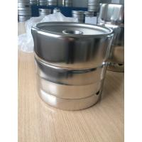 China US Standard Mirror Polished 5L Draft Beer Keg 215MM Height FDA Certificated wholesale