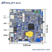 China ZC-R3188 Android Board With CPU Quad Core R3188 Nano ITX Motherboard ARM A9 With LVDS wholesale