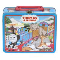 China Fabulous Metal Lunch Boxes With Plastic Handle And Lock For Kids wholesale