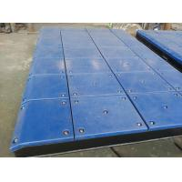 Wholesale Customized Impingement Sheet Marine Fender System Bolted With UHMW - PE Face Pads from china suppliers