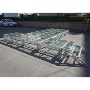 China RK Height adjustable aluminum stage foldable stage platform collapsible stage platform on sale
