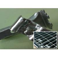 China Stainless Steel Bar Grating Clips , End Plate Welding Bar Grating Fasteners wholesale