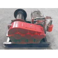 China Smooth Electric Winch Machine With Spooling Drun Or Smooth Drum wholesale