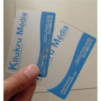 Quality Transparent business card for sale