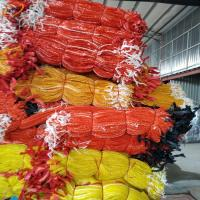 China Packing PP vegetable net bag / Potato Garlic Fruit Orange Firewood Mesh bag / onions bags wholesale