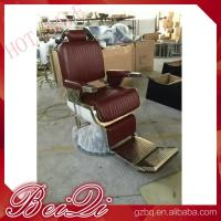 Quality Luxury hair salon furniture barber styling units reclining hairdressing chair for sale