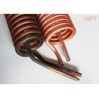 China ISO Outer Dia 19.05MM Finned Tube Coils Copper or Copper Nickel wholesale