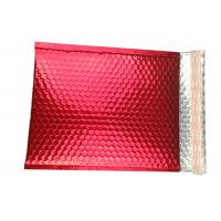 China Moisture Proof Colorful Metallic Glamour Bubble Mailers Shipping  Mailing Bags wholesale