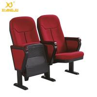 China ISO14001 Padded Upholstery Folding Auditorium Lecture Hall Seating With PP Shell wholesale
