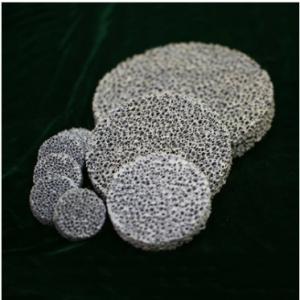 SILICON CARBIDE FOUNDRY FOAM CERAMIC FILTER FOR CAST IRON AND NON FERROUS ALLOYS