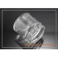 Quality 25ml clear screw neck glass jar for cosmetics packaging , D43mm×H43mm for sale