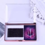China Gradual Purple Blooming Eyelash Individual Extensions 0.07mm Thickness Hand Made wholesale