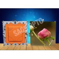 Quality Indoor High Brightness Ultra Thin HD LED Displays 6mm seamless assembling for sale