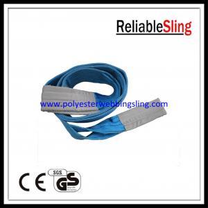 1T - 10T Polyester Flat Webbing Sling En 1492-1, industrial lifting slings