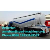 China 60M3 Polyurethane Painting Bulk Cement Transport Truck With #50 #90 Fifth Wheel wholesale