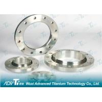 GR2 Titanium Forging ring , Titanium flange Titanium alloy forgings / disk shaft