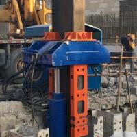 Quality Construction Equipment Hydraulic Pile Extractor For Pulling H-Beam Piles for sale