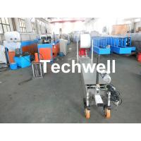 China Custom Portable Downspout Machine / Mobile Rainspout Forming Machine wholesale