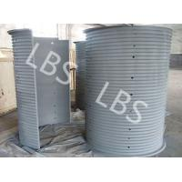 China split lebus grooved drum ,carbon or cusomer requirement wholesale