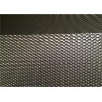 China 3.0 Mm One Way Vision Mesh Mill Finish Air Flow For Security Windows / Doors wholesale